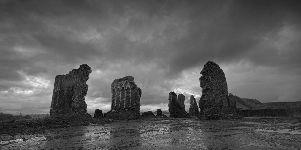 Lost in a landscape: Bromholm Priory