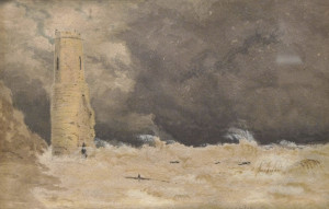 Eccles Church. Artist Unknown, Norfolk Museums