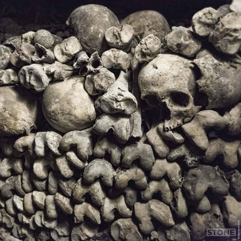Paris Catacombs © 2013 Nick Stone 2