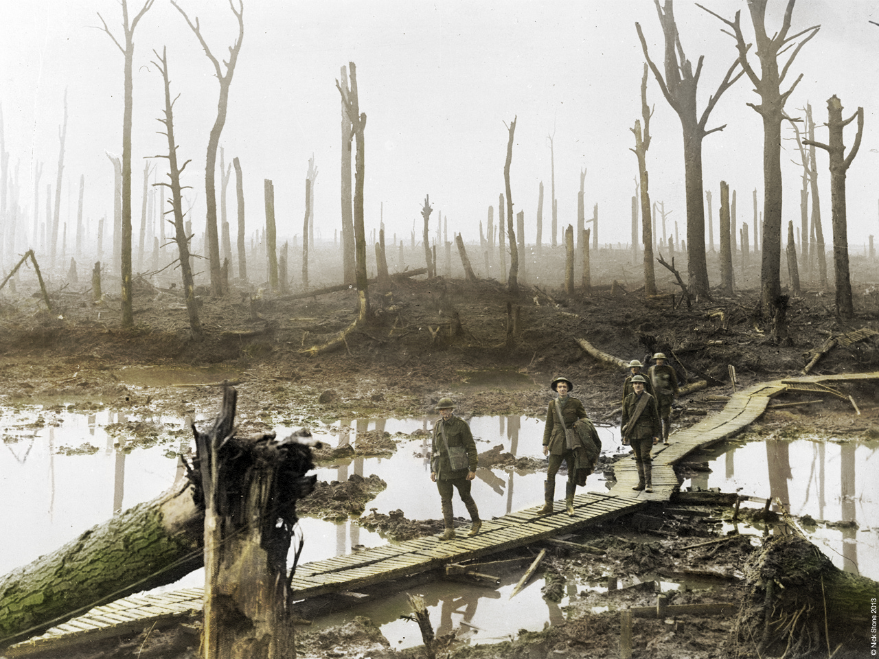 © Nick Stone WW1 in colour 2