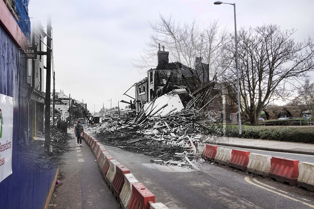 St Benedicts street norwich blitz © nick stone 2011