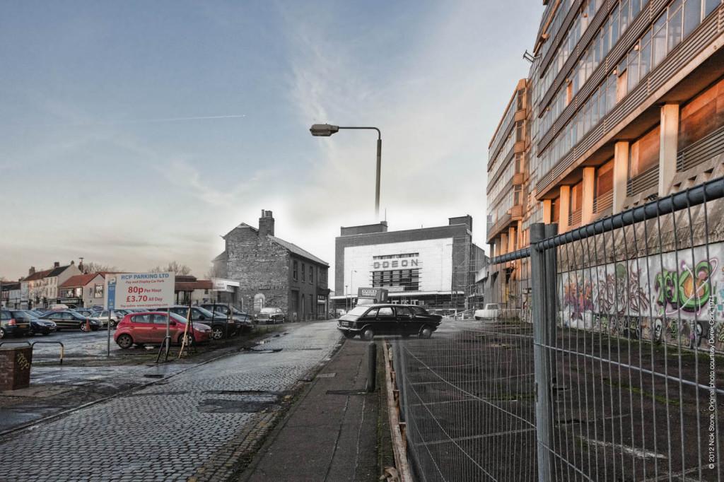 Cinema ghost Norfolk at the pictures © Nick Stone Derek Cork