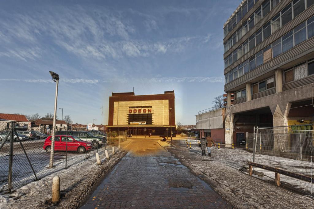 Cinema ghost Norfolk at the pictures © Nick Stone Geoffrey Goreham