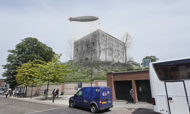 Ghosts: R101 & Norwich Castle