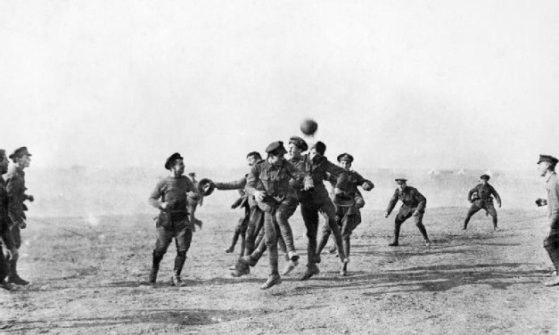 Football, Xmas, WW1 & misinformation