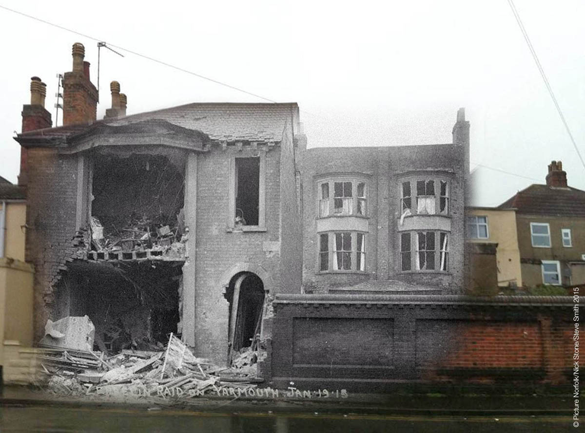 St Peter's Villa Great Yarmouth 1915 2015