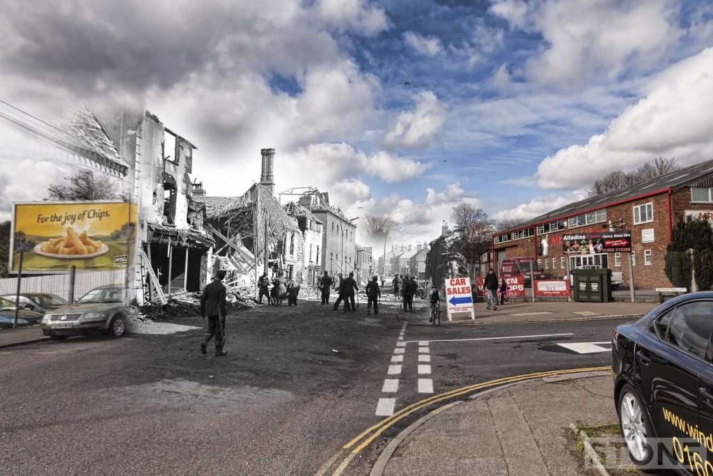 Oak Street 1942 Blitz Ghost © Nick Stone