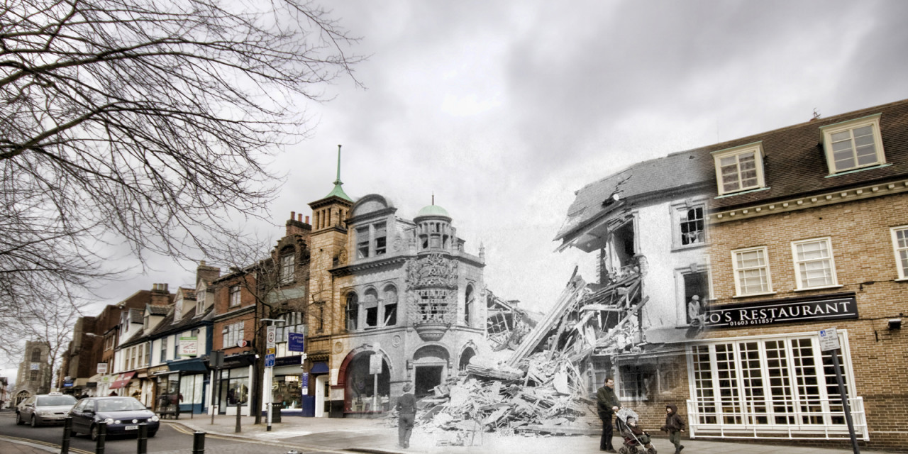 Blitz Ghosts: St Giles