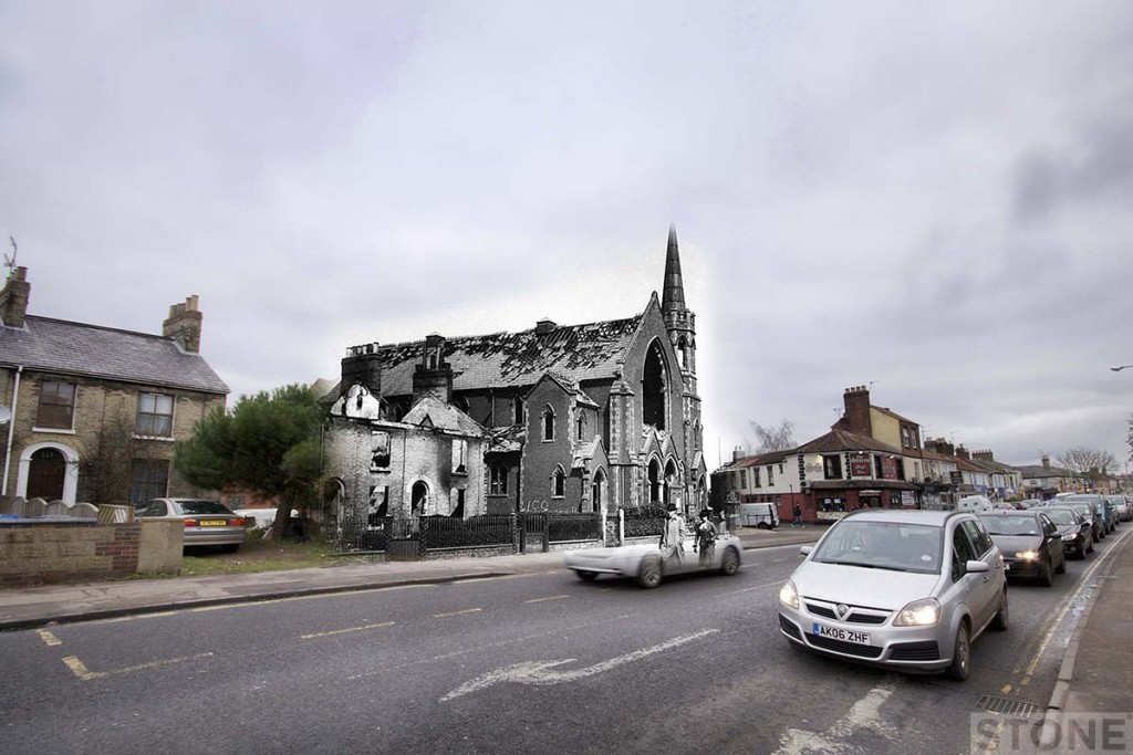 Blitz Ghost Dereham Road © Nick Stone