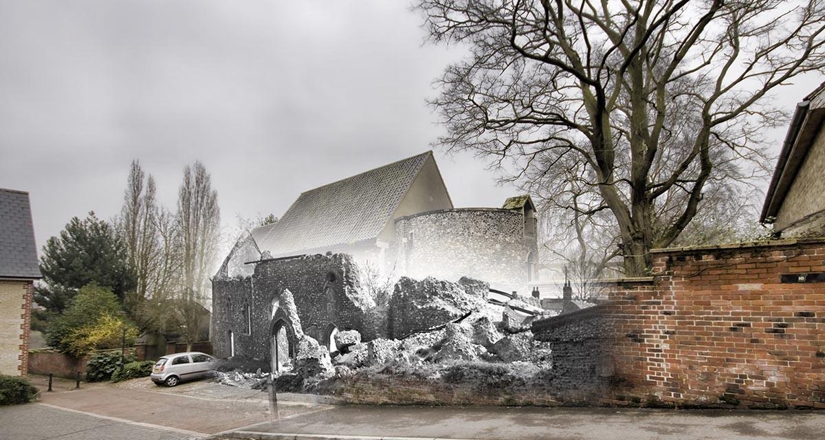 Blitz Ghosts: Church of St Julian Norwich
