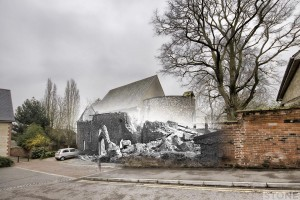 St Julian Norwich blitz ghost © Nick Stone 1