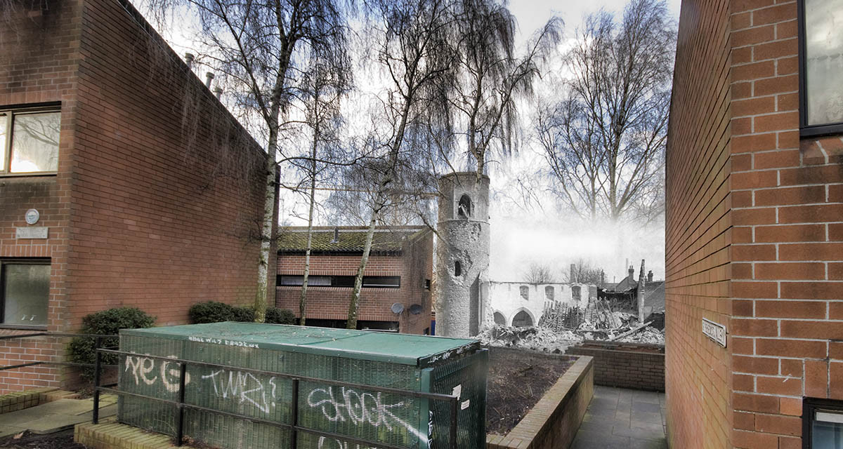 Blitz Ghosts: St Benedicts Church