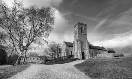 Lost in a landscape Hardingham – four crosses