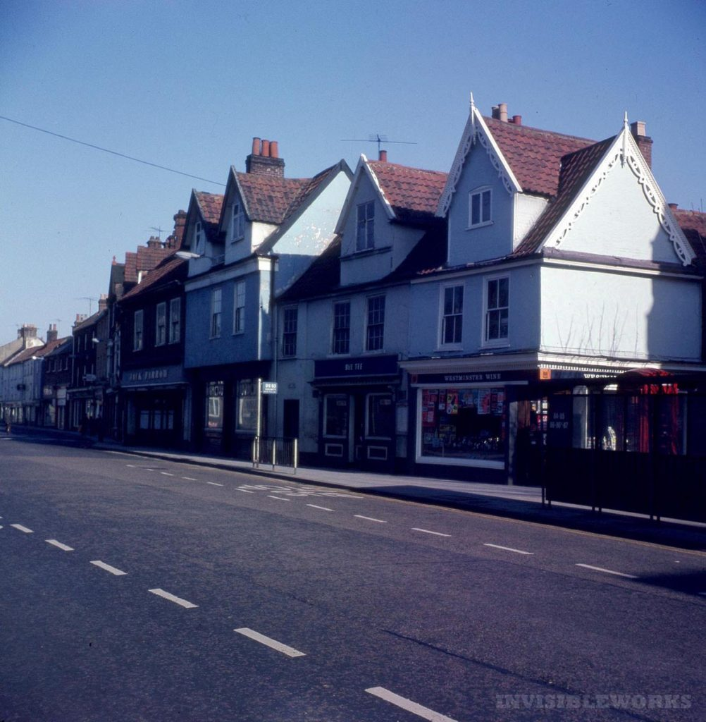 Through Glass 1960s Norwich Part 4 Streets Invisible