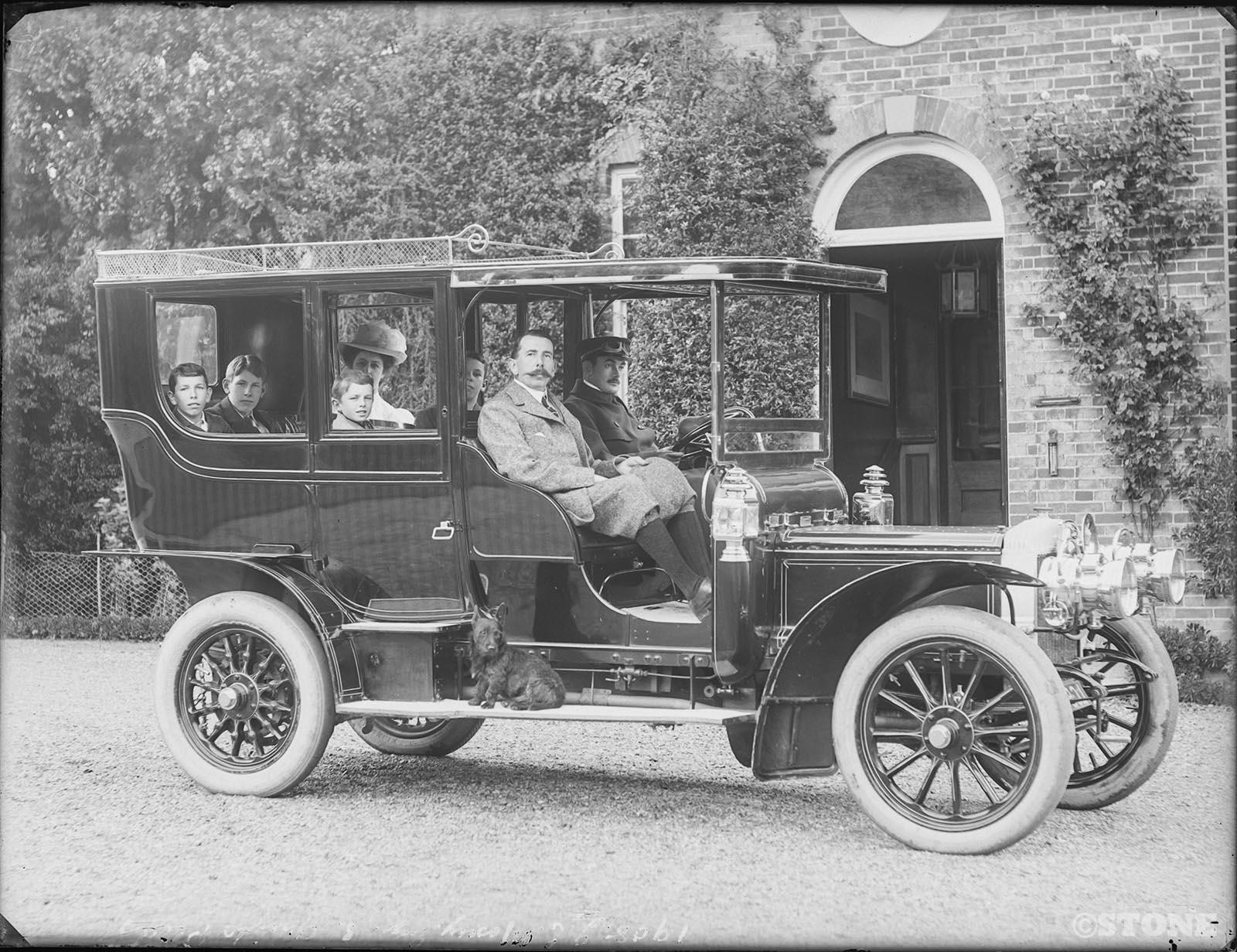 Herbert Thomas Cave - Car