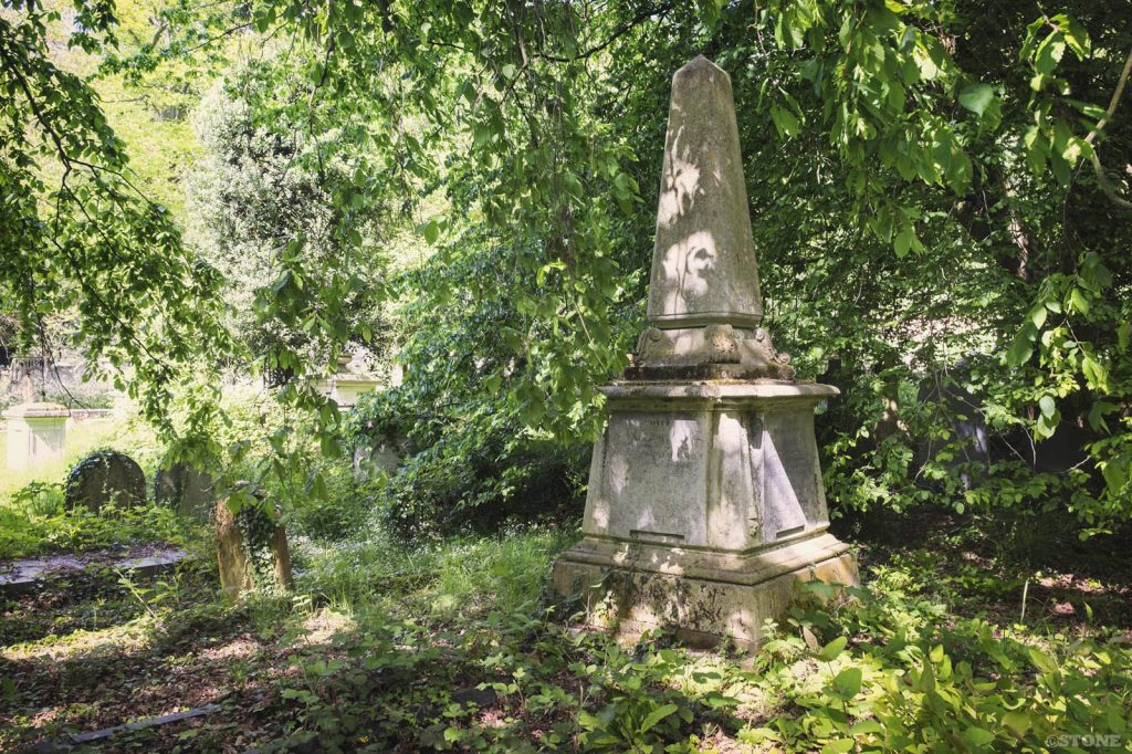 Rosary Cemetery, Norwich, Obelisk