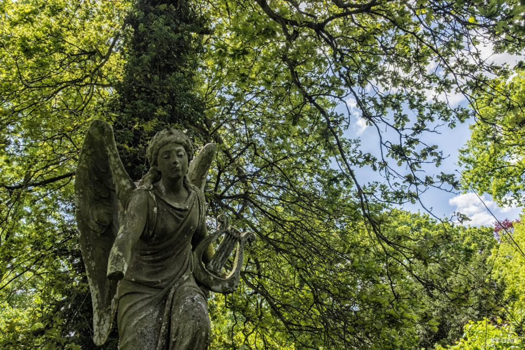 Rosary Cemetery, Norwich, Victorian Angel