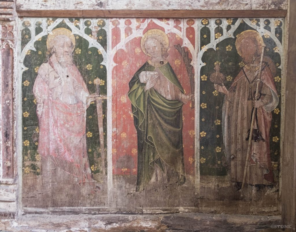 Edngthorpe rood screen