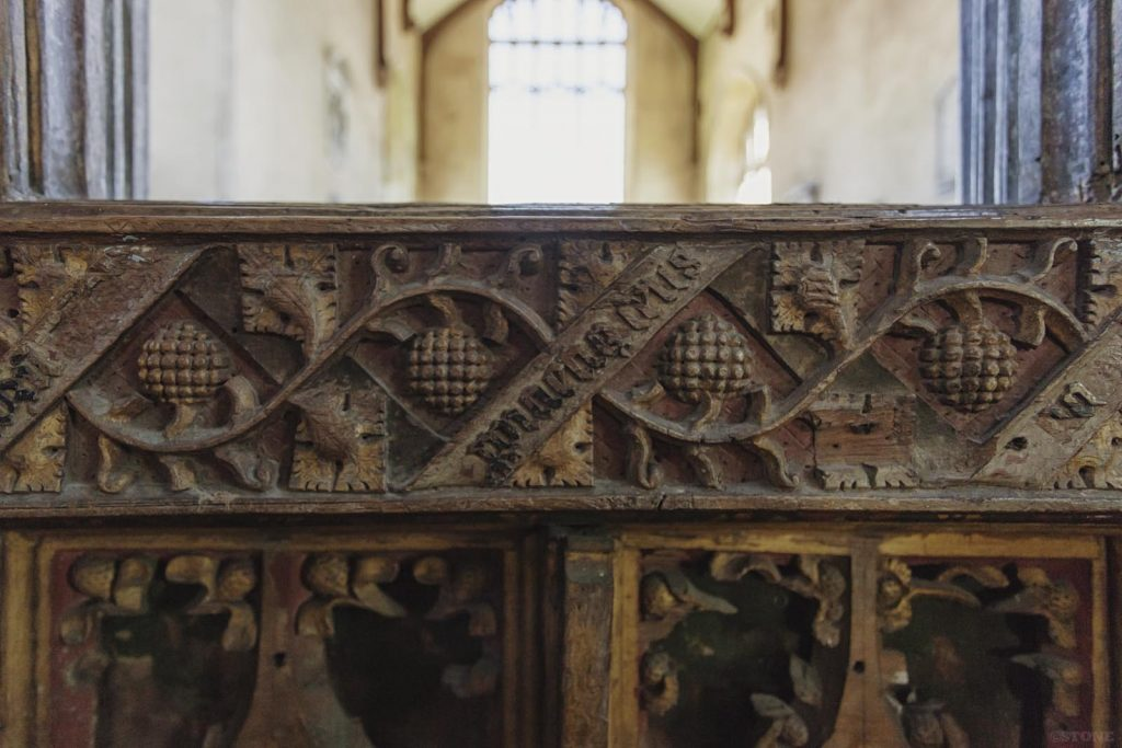 Trunch medieval rood screen