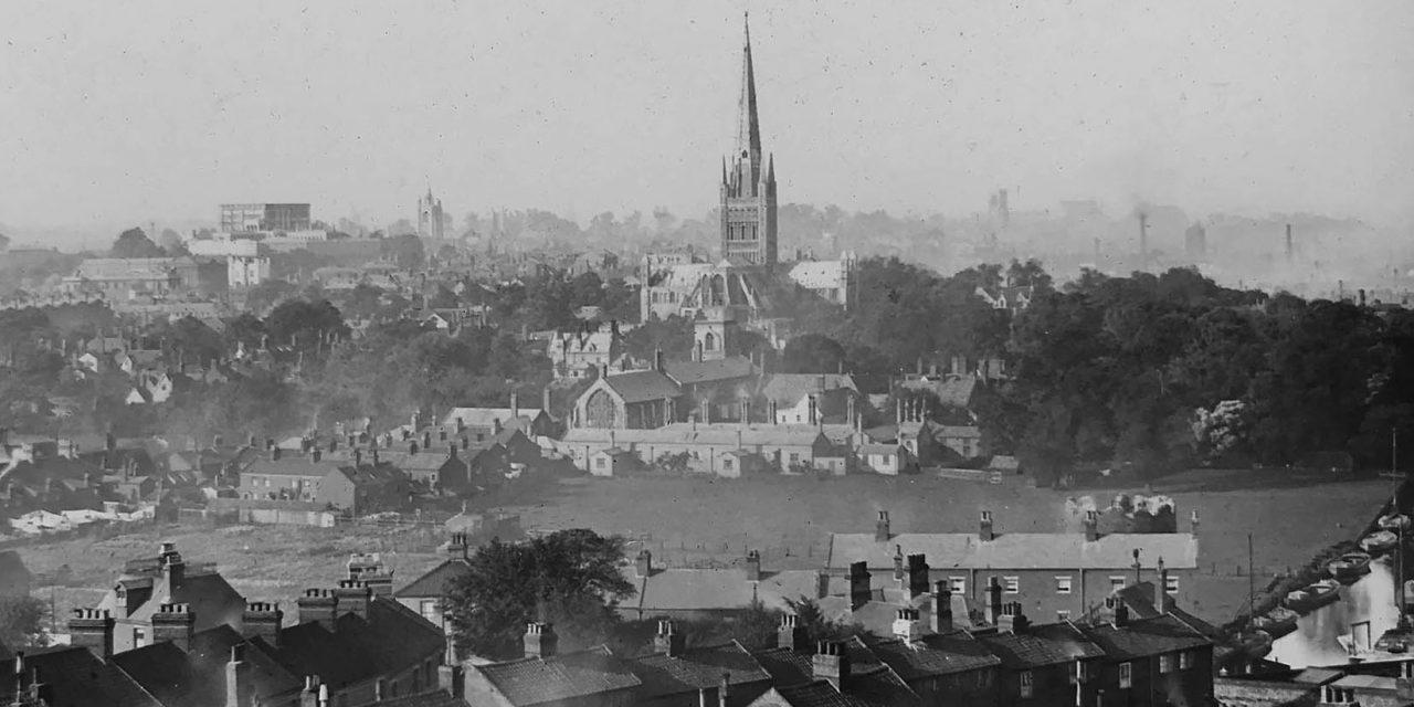 Through Glass: Norwich Skyline 1890s