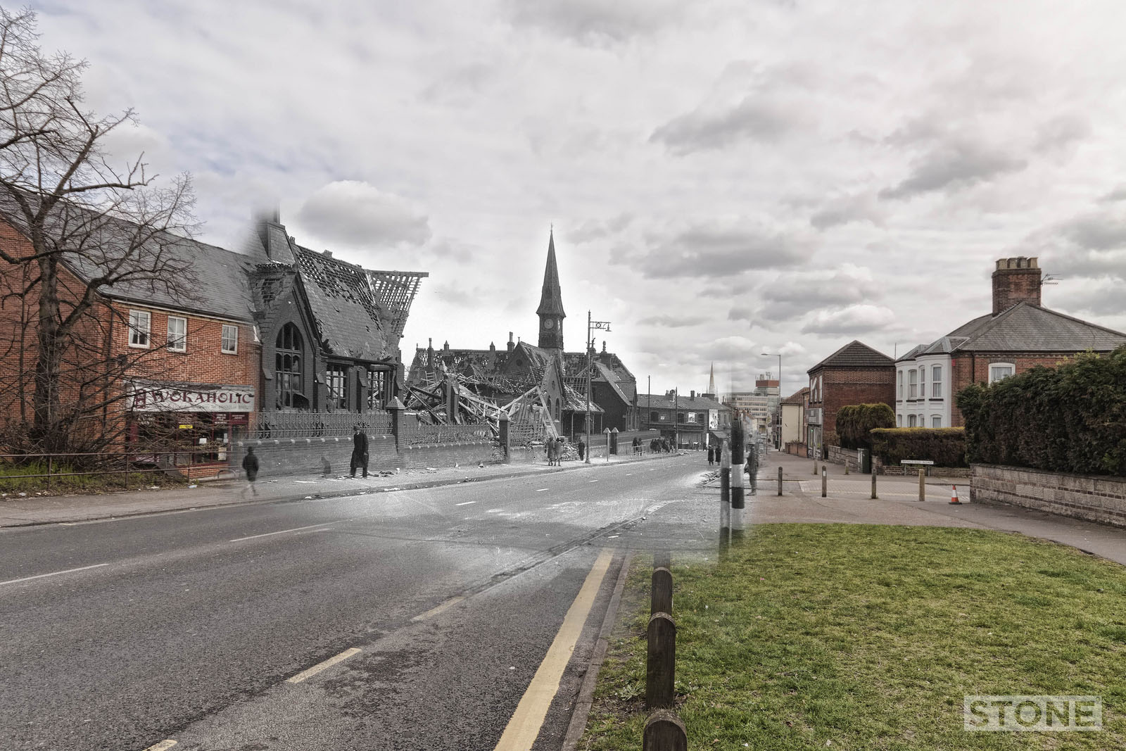 Rephotography: Ghosting history