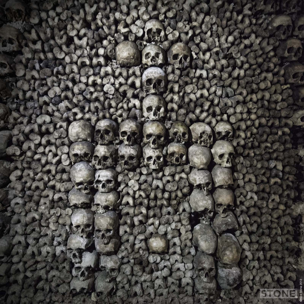Paris Catacombs © 2013 Nick Stone 1