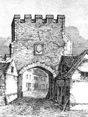 Magdalen gate