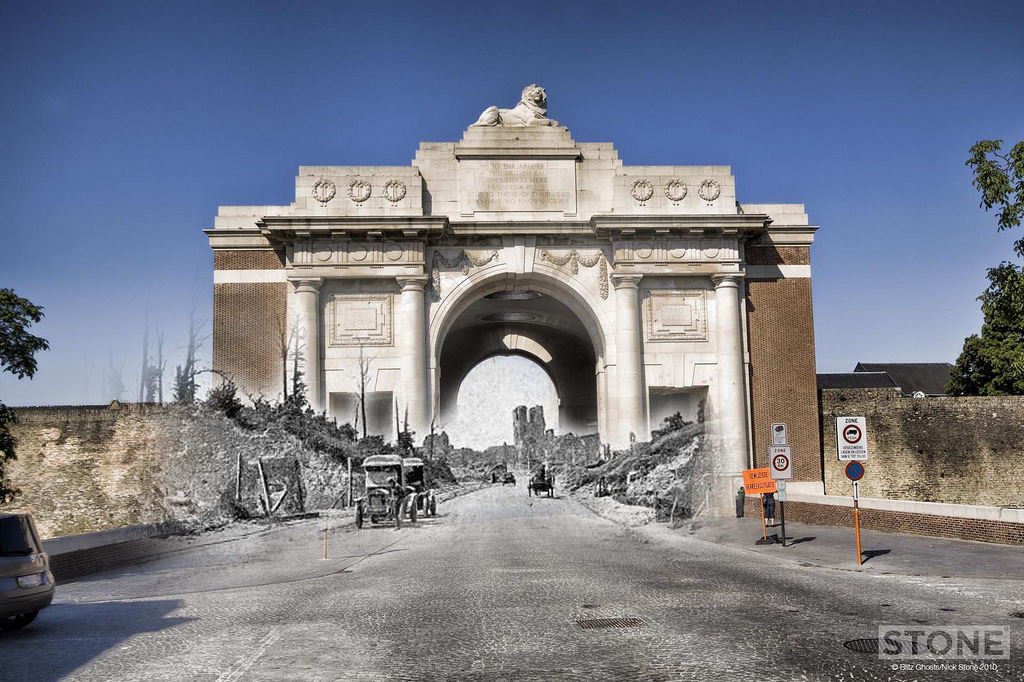 Menin gate ghost © Nick Stone