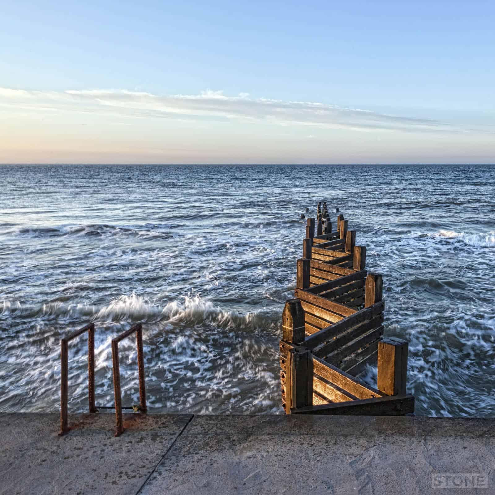 © Nick Stone Walcott sea norfolk defences erosion 1