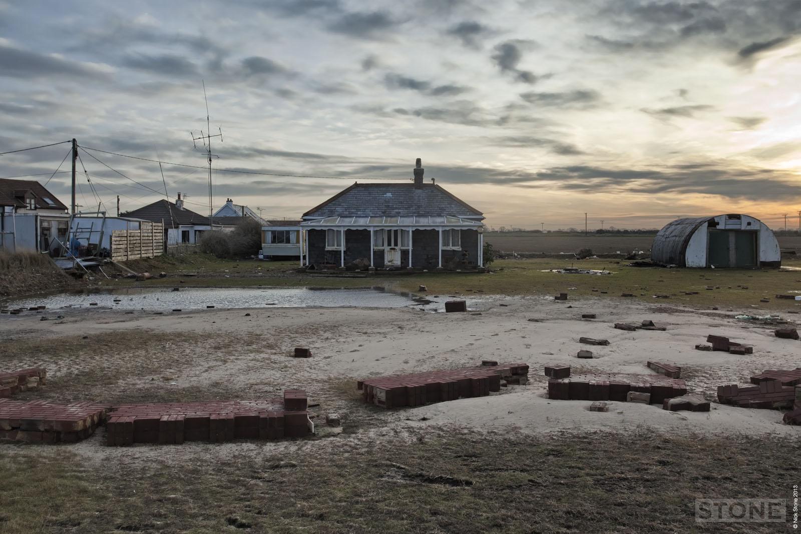 © Nick Stone Walcott norfolk surge cottage chalet damage sea 3
