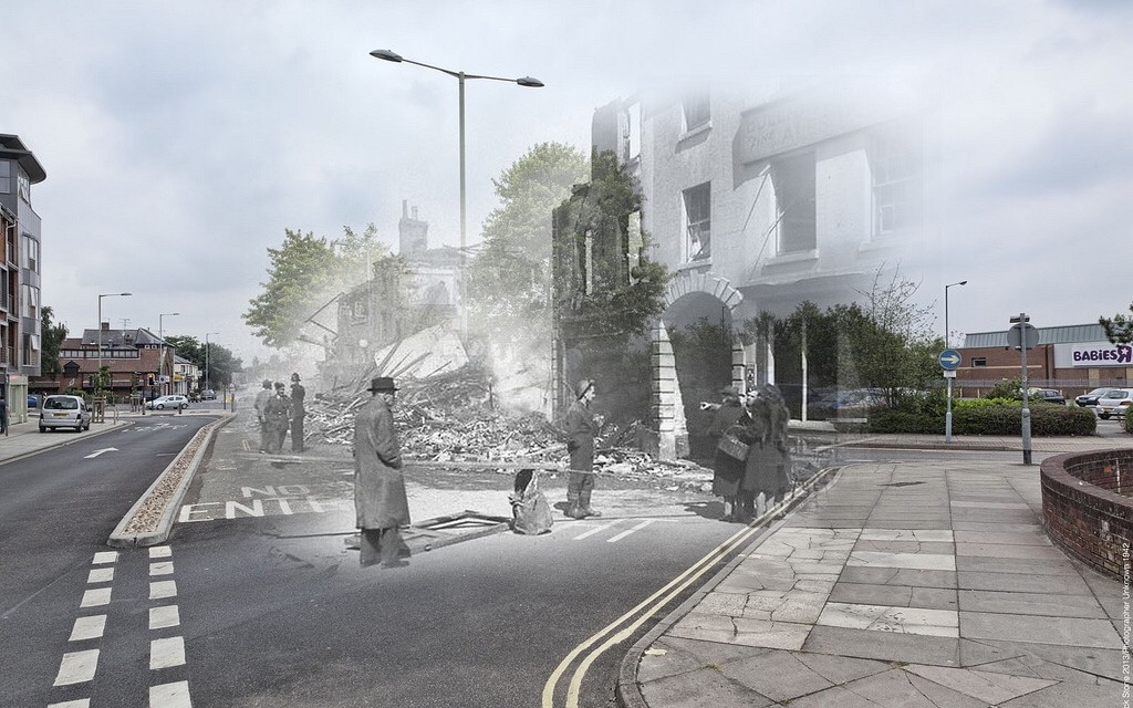 Blitz Ghosts: St Benedicts Gate