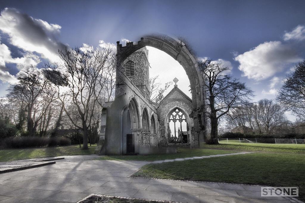 Blitz Ghost: St Bartholomew