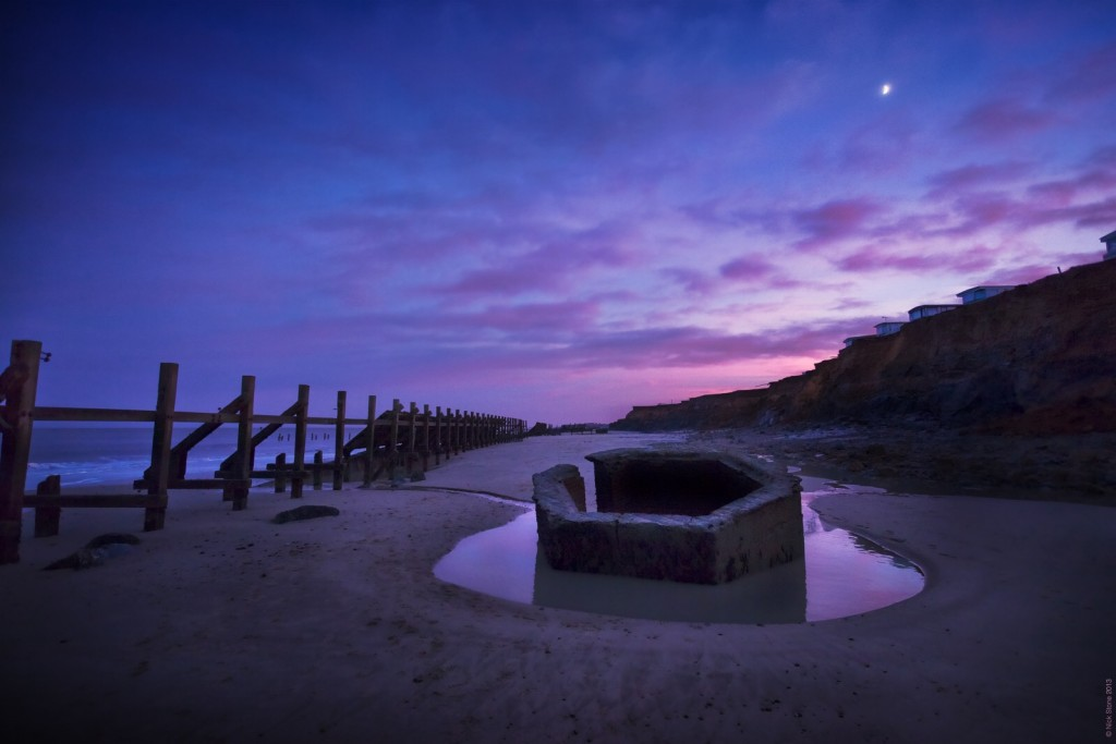 Happisburgh pillbox copyright nick stone 2014