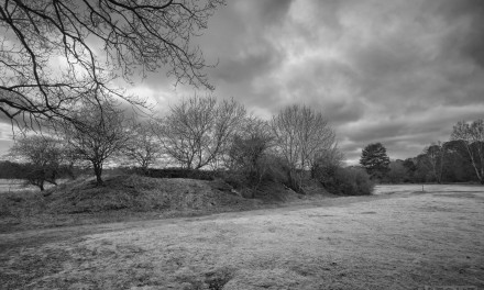 Lost in a landscape: Wretham Circles