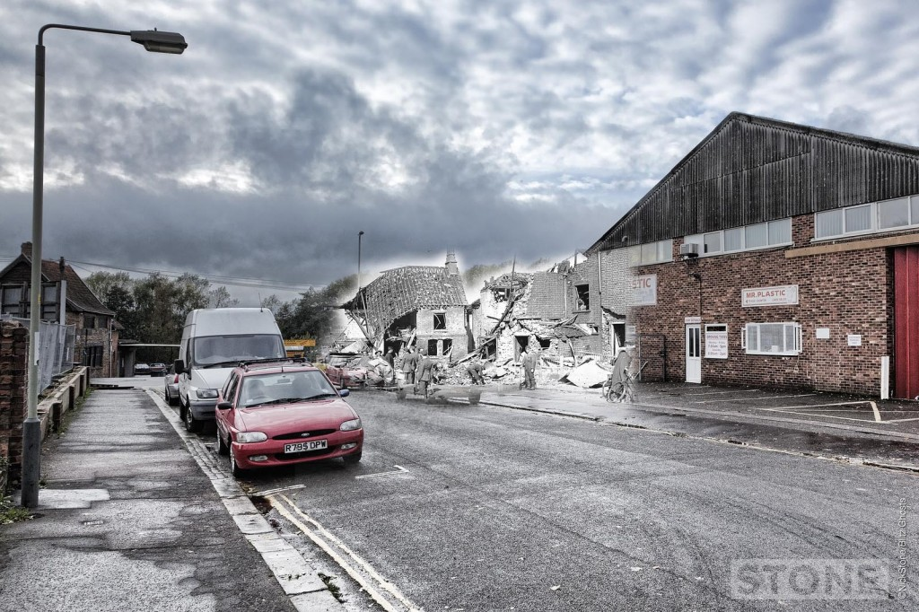 Sussex Street 1942 Blitz Ghost © Nick Stone