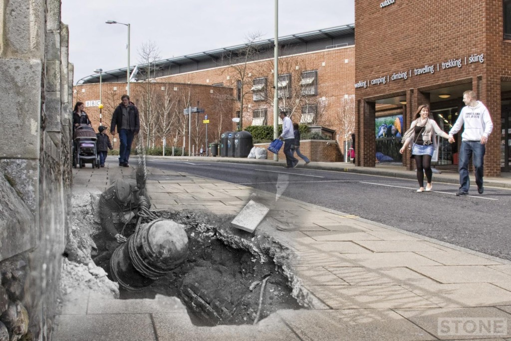 Theatre Street 2 Norwich UXB 1942 © Nick Stone 2015