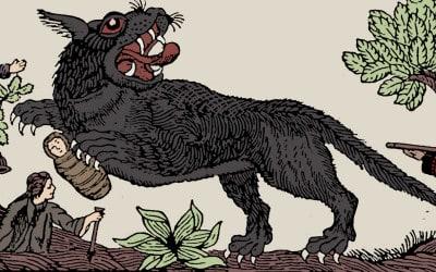 Black Dog lore of the North York Moors