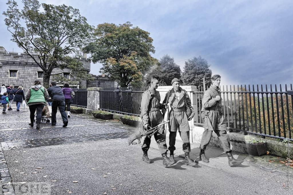 Norwich Castle ghosts 1941 2 © Nick Stone