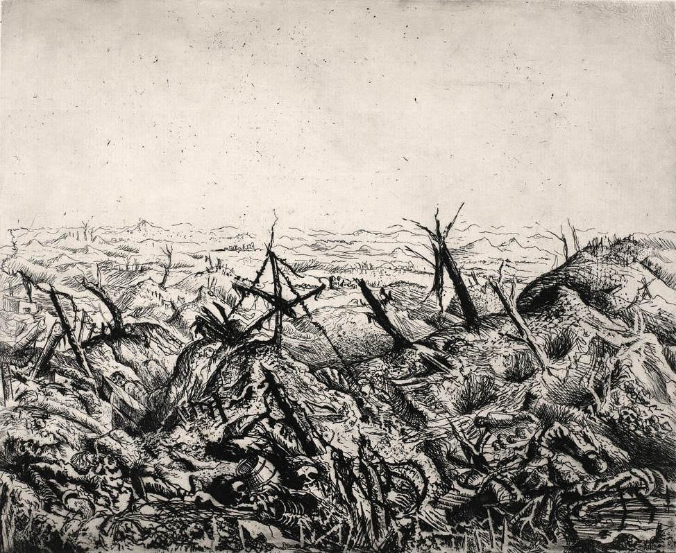Otto Dix -feb 1918