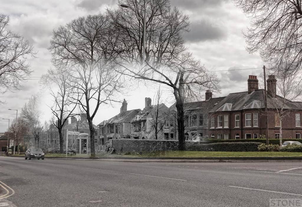 Aylsham Road Blitz Norwich Ghost 2 © Nick Stone 1200