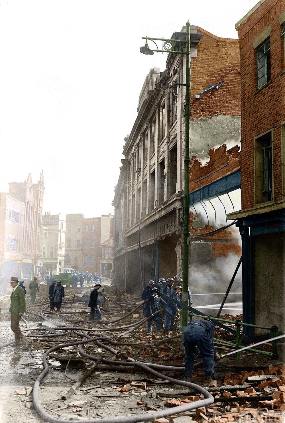 Blitz in colour Rampant Horse Street © Nick Stone