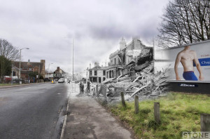 Dereham Road Blitz Ghost © Nick Stone