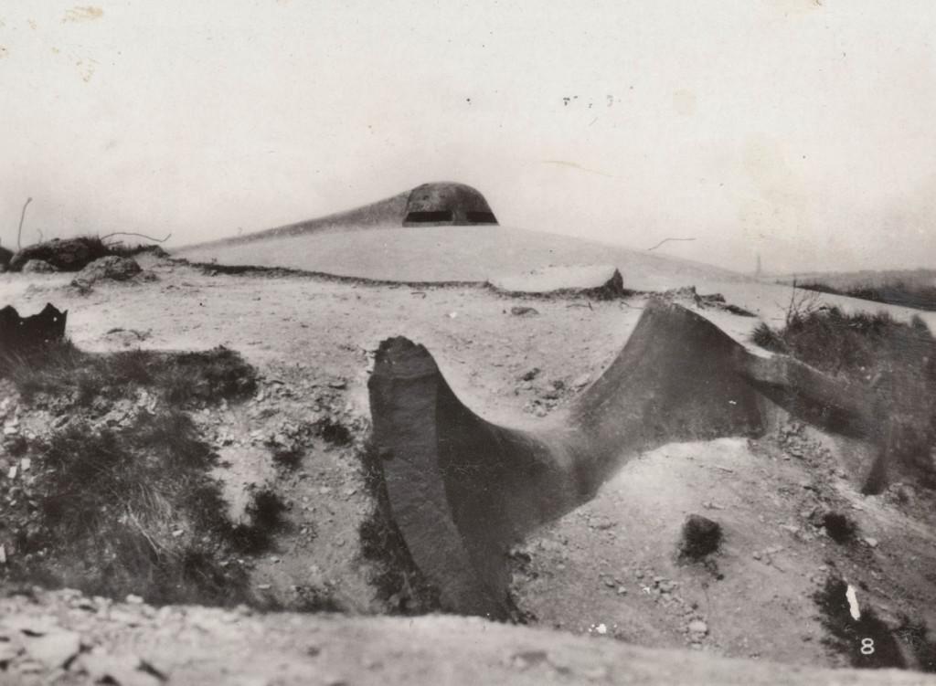 Fort Vaux - artillery observation post