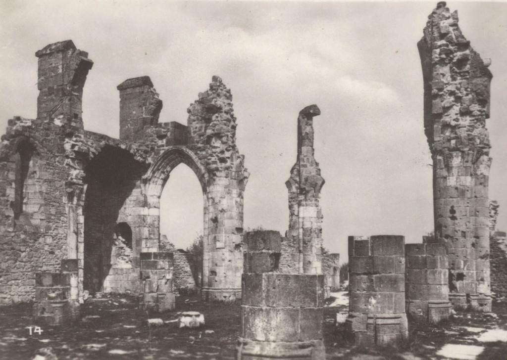 Montfaucon church ruins