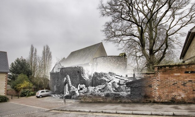 Blitz Ghosts: Church of St Julian Norwich
