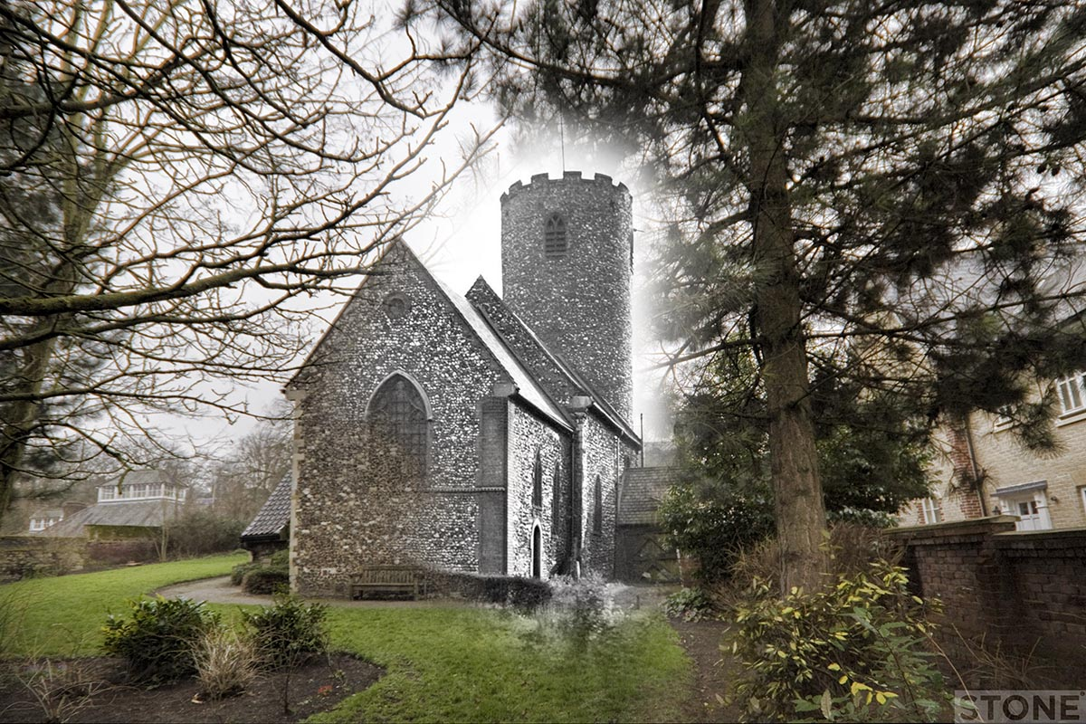 St Julian Norwich blitz ghost © Nick Stone 2