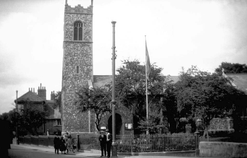 St Michael at Thorn south side from Ber St [B102] 1931-00-00