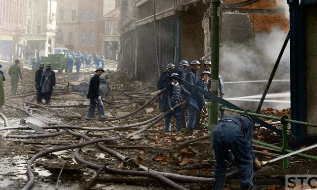 Blitz in Colour: Rampant Horse Street 30 April 1942