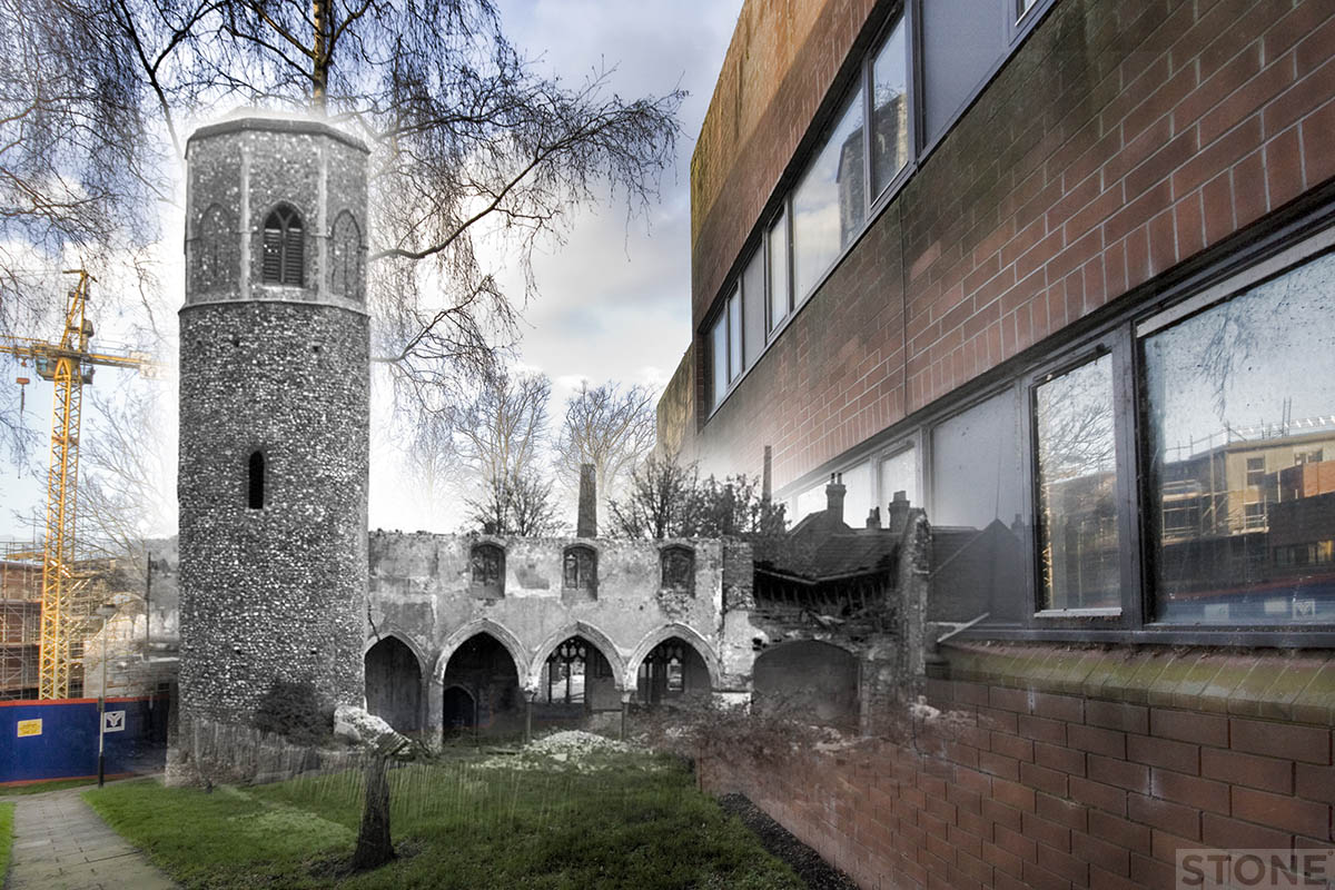 st benedicts church blitz 2 © Nick Stone