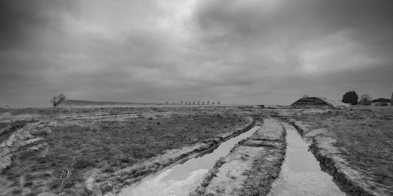 Vanishing point: Guillemont, Trones and Jünger's Lane.